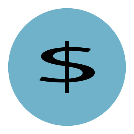 currency symbol icon 일러스트
