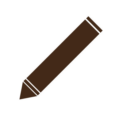 pencil vector icon, pencil icon in trendy flat style
