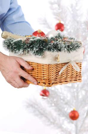 giftbasket: Christmas gift basket