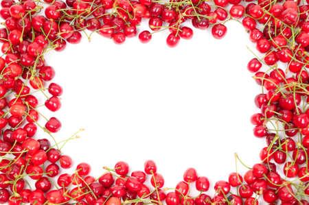 Cherry frame Stock Photo - 3831212