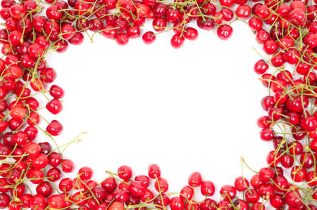 Cherry frame Stock Photo - 3831212