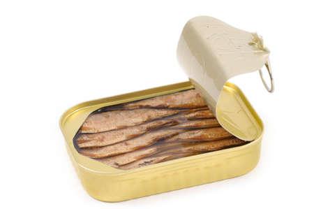 sardinas: Sardinas enlatadas desde arriba