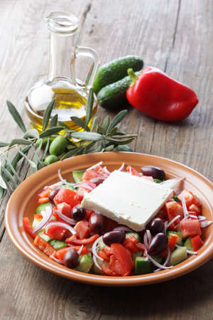 mediterranean cuisine: Greek salad
