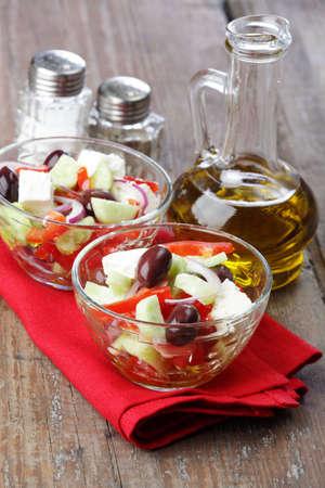 Greek salad photo