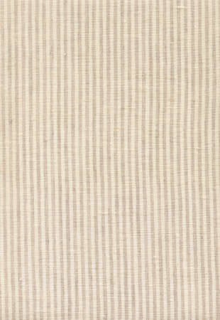 Striped beige linen texture Stock Photo