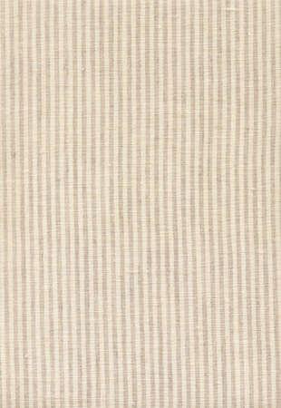 Striped beige linen texture Stock Photo - 9215028