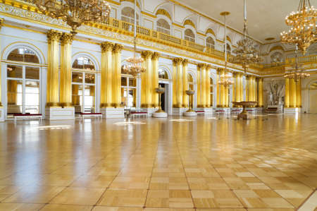 armory: St. Petersburg, Russia - July 2, 2008: Armory hall in the Winter Palace, now the Stage Hermitage Museum, St. Petersburg, Russia on July 2, 2008 Editorial