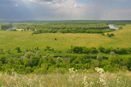 voronezh: Landscape of river Don in Divnogorie national park, Voronezh region, Russia