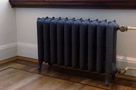 Retro styled cast iron radiator