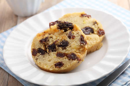 dick: Traditional English pudding spotted dick