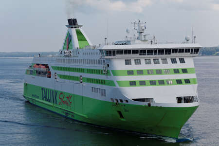 Tallinn, Estonia - August 20, 2016: Ship Star of Tallink arrives from Helsinki. The ship built in 2007 and has the capacity for 2080 passengers and 450 passenger cars
