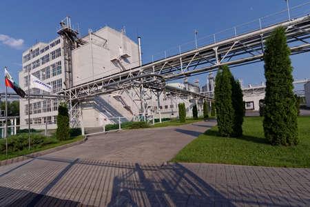 Alekseevka, Belgorod region, Russia - June 8, 2014: Industrial buildings of PJSC EFKO. EFKO Group is Russias largest vertically integrated company producing specialised fats Editorial