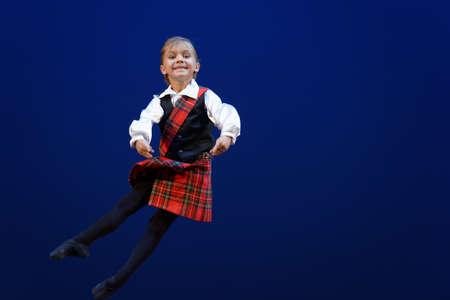 St. Petersburg, Russia - November 16, 2017: Student of Ilya Kuznetsov ballet school Stephan Otto performs during gala concert of Oleg Vinogradov. Great choreographer celebrated his 80th anniversary Editorial
