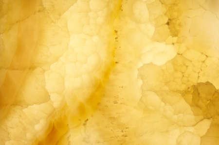 Texture of yellow onyx stone