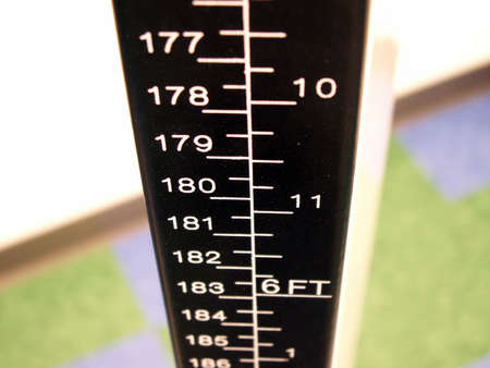 perspective of a doctors office scale