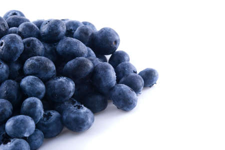 Close up of some fresh blueberries in a pile Stock Photo - 5822247
