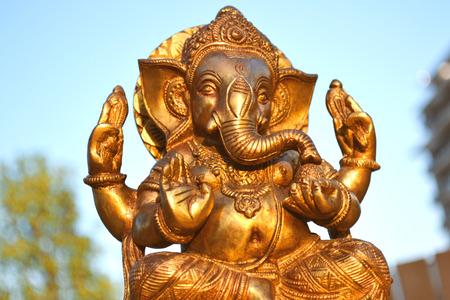 Ganesh metal statue