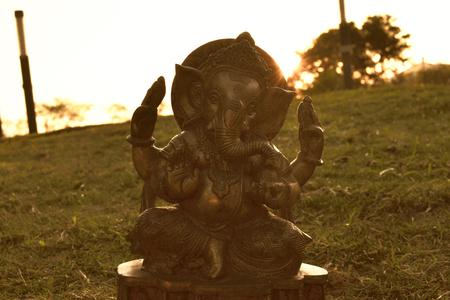 Ganesha silhouette