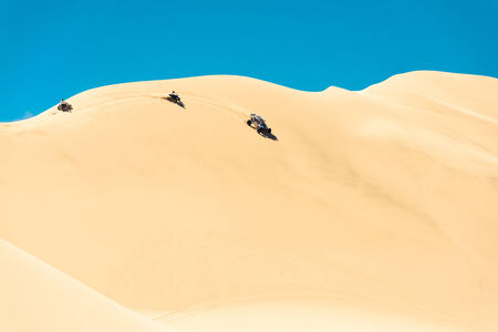Buggy in the Dumont dunes photo
