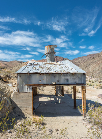 Old mine on Old Toll road in Death Valley
