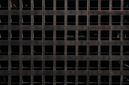 utopian: Dark and empty office space