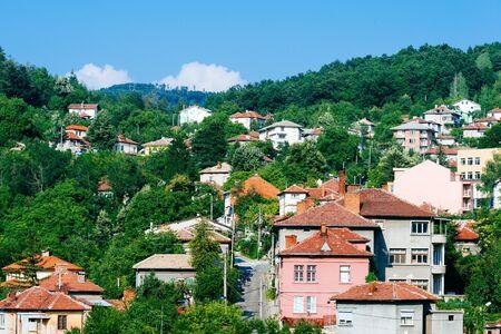 bulgaria: Picturesque cityscape of Gabrovo, Bulgaria