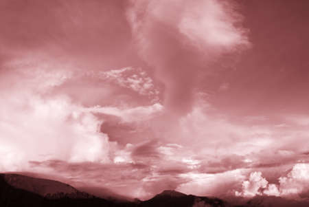 untitled key: Beautiful high mountain and clouds.This photo was taking in Taiwan National Park.