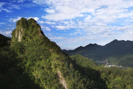 untitled key: This is a hrad and dangerous mountain in Taiwan, but it is very beautiful.