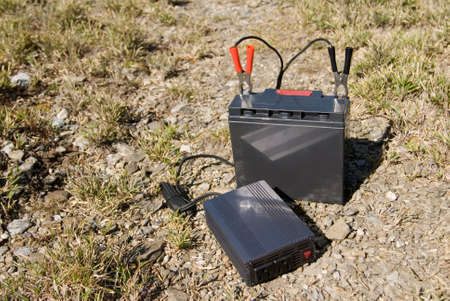 electronic energizer: It is a battery in the outdoors.