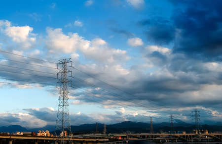 Here are a lot of power towers. Stock Photo - 5061424