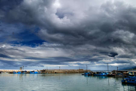 It is a bay before storm coming. Stock Photo - 5061436