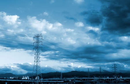 Here are a lot of power towers. Stock Photo - 5100145