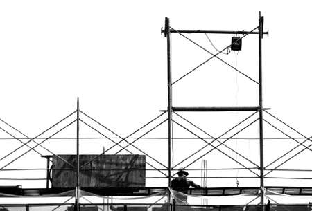 It is a building that under construction. photo