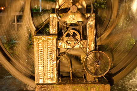 It is a kind of machine with old color. Stock Photo - 5230125