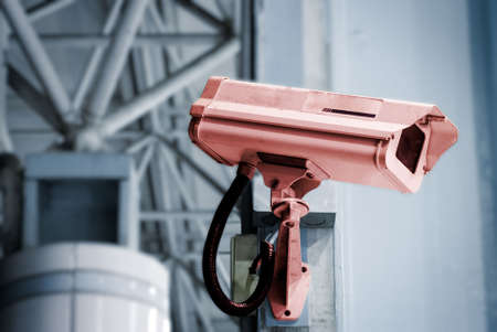 It is a security camera in the public place. Stock Photo - 5358627