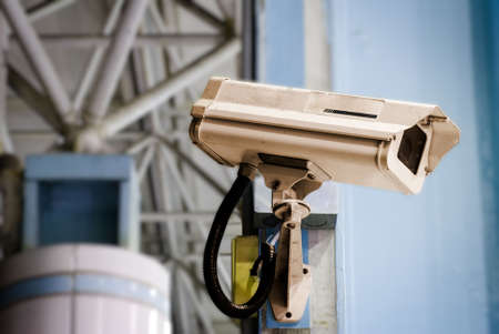 It is a security camera in the public place. Stock Photo - 5405982