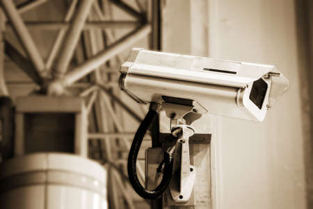 It is a security camera in the public place. Stock Photo - 5451006