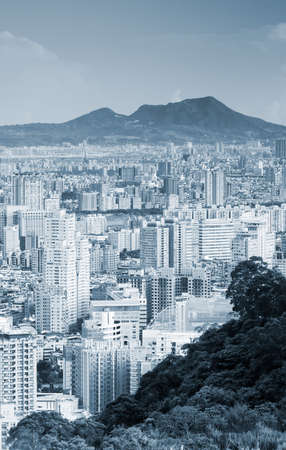 It is a beautiful city landscape in Asian city of Taiwan. Stock Photo - 5467874