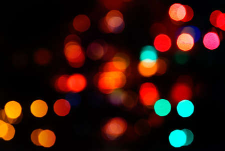 Beautiful abstract spot light decoration in red. Stock Photo - 5950870