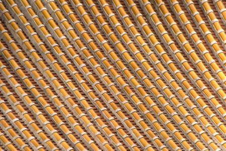Tile background from Chinese traditional temple roof. Stock Photo - 6305414