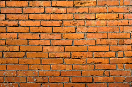 Brick wall background in red color and good texture. Stock Photo - 8401953
