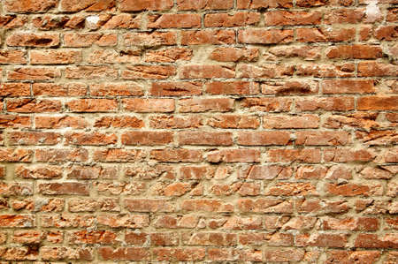 Grungy and old brick wall background with texture and pattern. Stock Photo - 8703293
