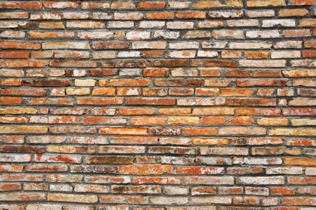 red brick wall showing the ancient atmosphere Stock Photo - 8905992