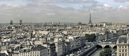 paris cityscape photo