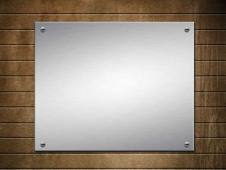 Metal textured background with copyspace. Stock Photo - 20456327