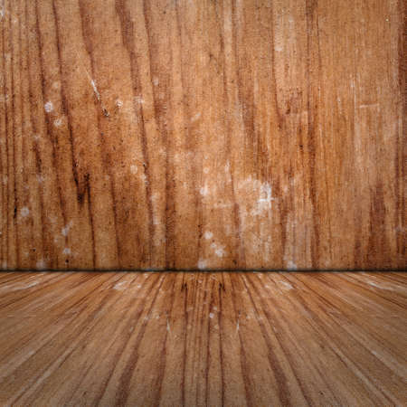 Textured background of wooden room with good texture. Stock Photo - 20559673