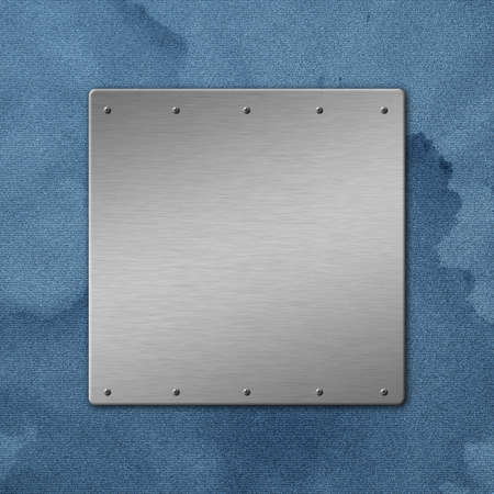 Metal textured background with copyspace. Stock Photo - 20559671
