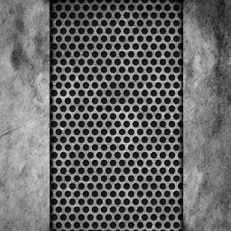 Metal textured background with copyspace. Stock Photo - 21448329