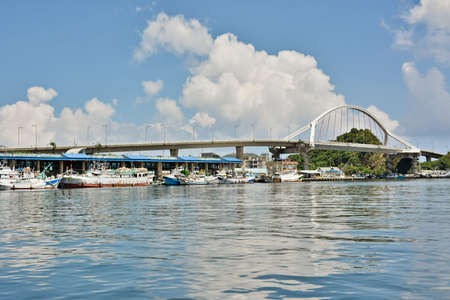 Famous fishing port, Suao, Taiwan, East Asia. photo