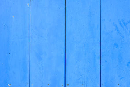 Aged grunge weathered blue wood texture photo